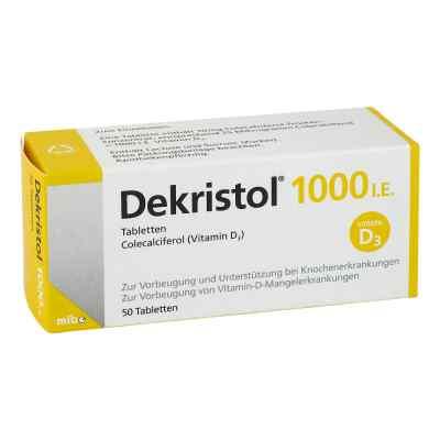 Dekristol 1.000 I.e. Tabletten  bei versandapo.de bestellen