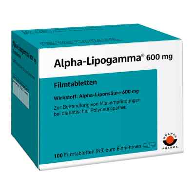 Alpha-Lipogamma 600mg  bei versandapo.de bestellen