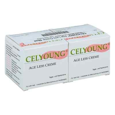 Celyoung age less Creme plus eine Gratis  bei versandapo.de bestellen
