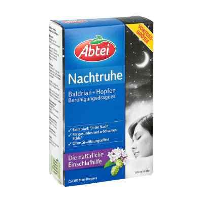 Abtei Nachtruhe Baldrian+hopfen Dragee (s) zur, zum beruhigung  bei versandapo.de bestellen