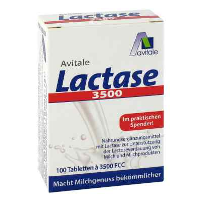 Lactase 3500 Fcc Tabletten im Klickspender  bei versandapo.de bestellen