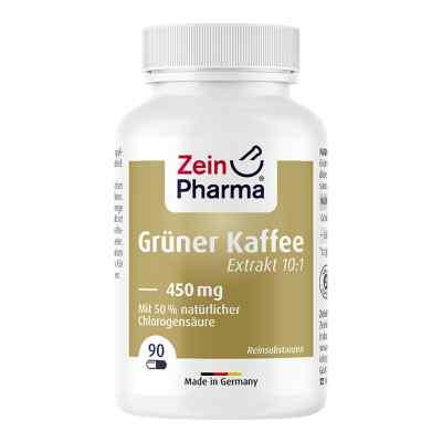 Grüner Kaffee Extrakt 450 mg Kapseln  bei versandapo.de bestellen