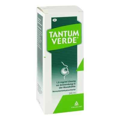 Tantum Verde 1,5 mg/ml Lösung zur, zum Anwendung in der Mundhöhl  bei versandapo.de bestellen