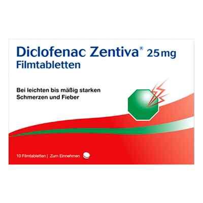 Diclofenac Zentiva 25mg  bei versandapo.de bestellen