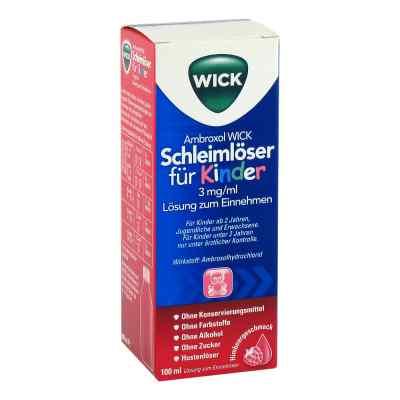 Ambroxol WICK Schleimlöser für Kinder 3mg/ml Lsg.z.Einn.  bei versandapo.de bestellen