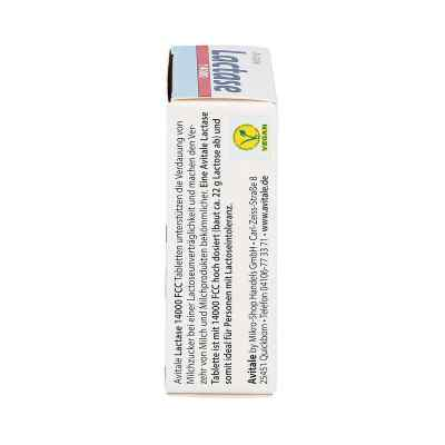 Lactase 14000 Fcc Tabletten im Spender  bei versandapo.de bestellen