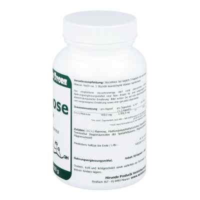 D Mannose 500 mg vegetarische Kapseln  bei versandapo.de bestellen