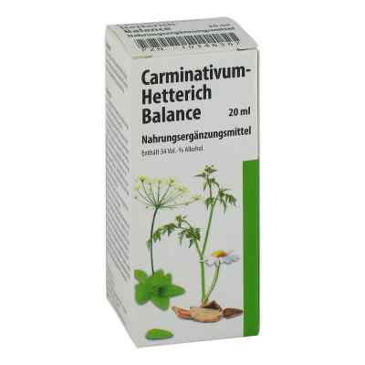 Carminativum Hetterich Balance Tropfen zum Einnehmen   bei versandapo.de bestellen