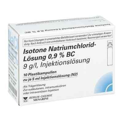 Isotone Nacl Lösung 0.9% Bc Plastik amp.inj.-lsg.  bei versandapo.de bestellen