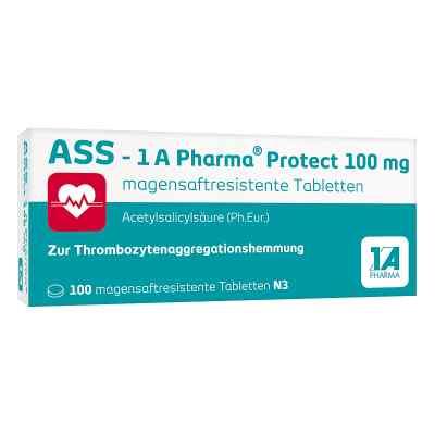 Ass 1a Pharma Protect 100 mg magensaftresistent Tabletten  bei versandapo.de bestellen