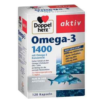 Doppelherz Omega-3 1.400 Kapseln  bei versandapo.de bestellen