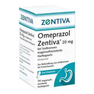 Omeprazol Zentiva 20mg bei Sodbrennen  bei versandapo.de bestellen