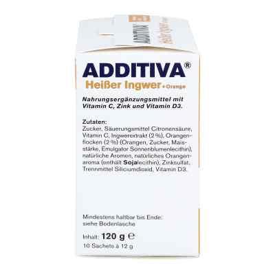 Additiva Heisser Ingwer+orange Pulver  bei versandapo.de bestellen