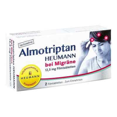 Almotriptan Heumann bei Migräne 12,5mg  bei versandapo.de bestellen