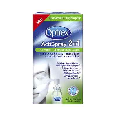 Optrex Actispray 2in1 für müde+überanstrengte Augen  bei versandapo.de bestellen