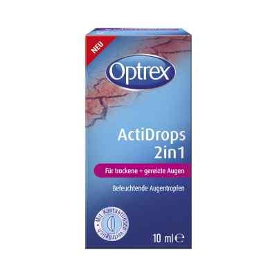 Optrex Actidrops 2in1 für trockene+gereizte Augen  bei versandapo.de bestellen