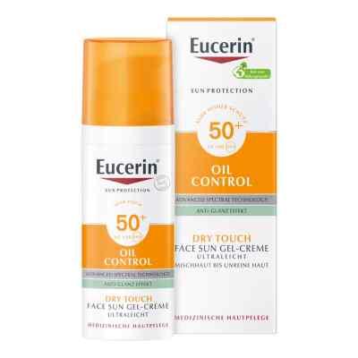 Eucerin Oil Control Face Sun Gel-Creme LSF 50  bei versandapo.de bestellen