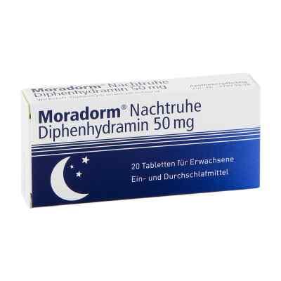 Moradorm Nachtruhe Diphenhydramin 50mg  bei versandapo.de bestellen