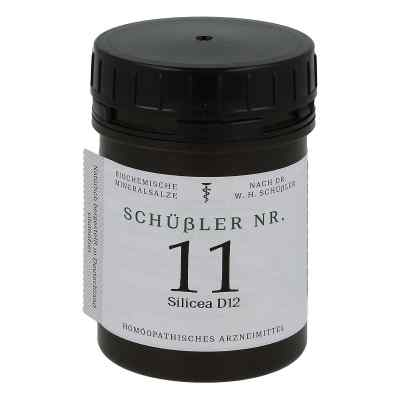 Schüssler Nummer 11  Silicea D 12 Tabletten  bei versandapo.de bestellen