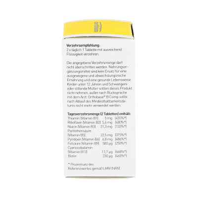 Orthobase B comp Tabletten  bei versandapo.de bestellen