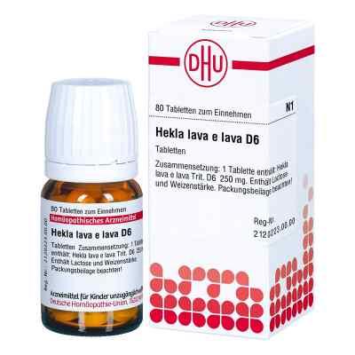 Hekla lava e lava D 6 Tabletten  bei versandapo.de bestellen