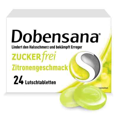 Dobensana Zuckerfrei Zitronengeschmack 1,2mg/0,6mg  bei versandapo.de bestellen