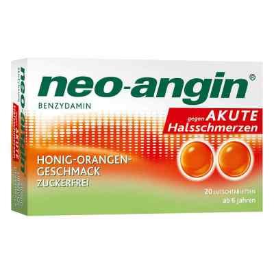 Neo Angin Benzydamin akute Halsschmerz.honig-oran.  bei versandapo.de bestellen