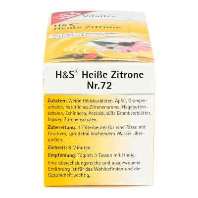 H&s Heisse Zitrone Vitaltee Filterbeutel  bei versandapo.de bestellen