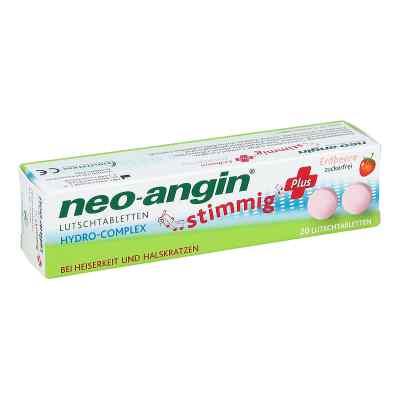 Neo Angin stimmig Plus Erdbeer Lutschtabletten  bei versandapo.de bestellen