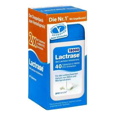 Lactrase 18.000 Fcc Tabletten im Spender Doppelpa.  bei versandapo.de bestellen