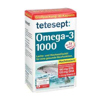 Tetesept Omega-3 1000 Kapseln  bei versandapo.de bestellen
