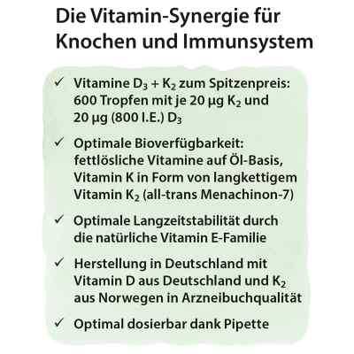 Dr. Jacob's Vitamin D3K2 Öl  bei versandapo.de bestellen