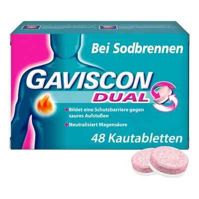 Gaviscon Dual 250mg/106,5mg/187,5mg Kautabletten  bei versandapo.de bestellen