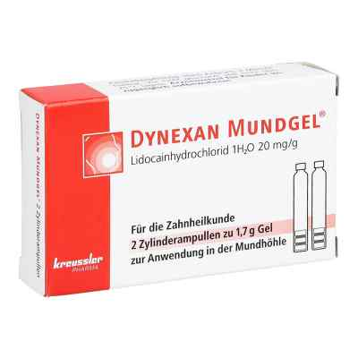Dynexan Mundgel Zylinderampullen  bei versandapo.de bestellen