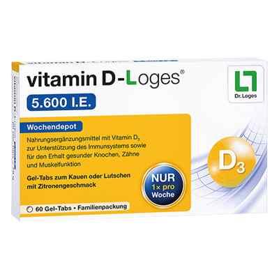 Vitamin D-Loges 5.600 I.e. Kautablette (n) Familienpackung  bei versandapo.de bestellen