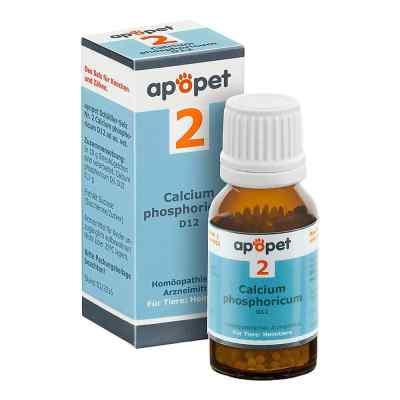 Apopet Schüssler-salz Nummer 2  Calcium phosphoricum D  12 veter  bei versandapo.de bestellen