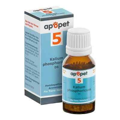 Apopet Schüssler-salz Nummer 5 Kalium phosphoricum D6 veterinär  bei versandapo.de bestellen