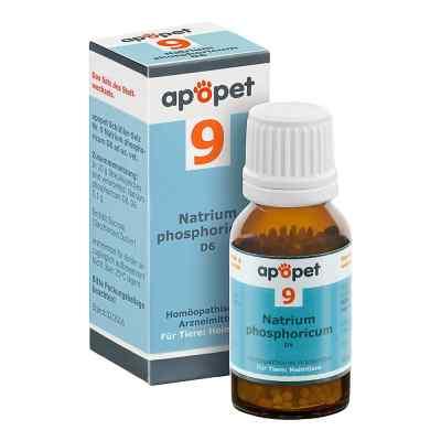 Apopet Schüssler-salz Nummer 9 Natrium phosphoricum D6 veterinär  bei versandapo.de bestellen