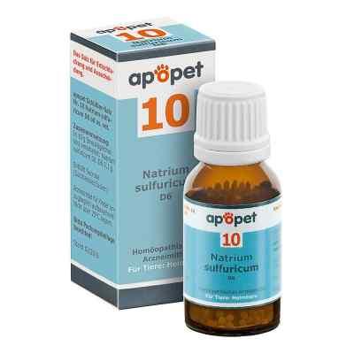 Apopet Schüssler-salz Nummer 10  Natrium sulf.D 6 veterinär   bei versandapo.de bestellen