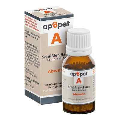 Apopet Schüssler-salze-kombination A ad usus vet.Gl.  bei versandapo.de bestellen