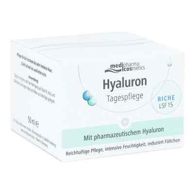 Hyaluron Tagespflege riche Creme Lsf 15  bei versandapo.de bestellen