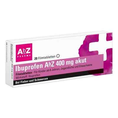 Ibuprofen AbZ 400mg akut  bei versandapo.de bestellen
