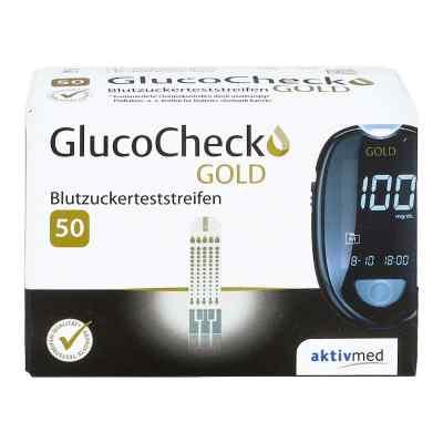 Gluco Check Gold Blutzuckerteststreifen  bei versandapo.de bestellen