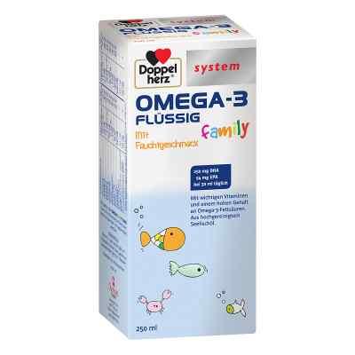 Doppelherz Omega-3 family flüssig system  bei versandapo.de bestellen