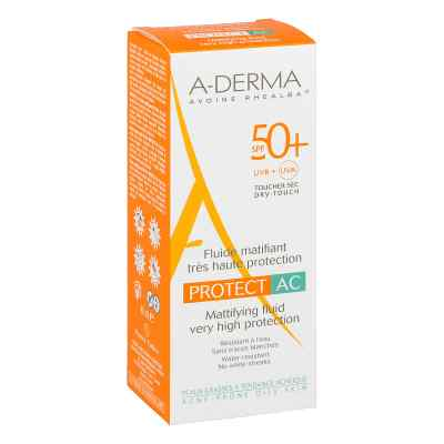 Aderma Protect Ac mattierendes Fluid Spf 50+  bei versandapo.de bestellen