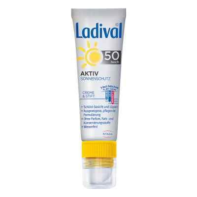 Ladival Aktiv Sonnenschutz für Gesicht und Lipp.LSF 50  bei versandapo.de bestellen