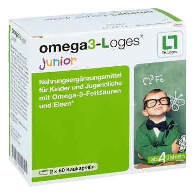 Omega 3-loges junior Kaudragees  bei versandapo.de bestellen