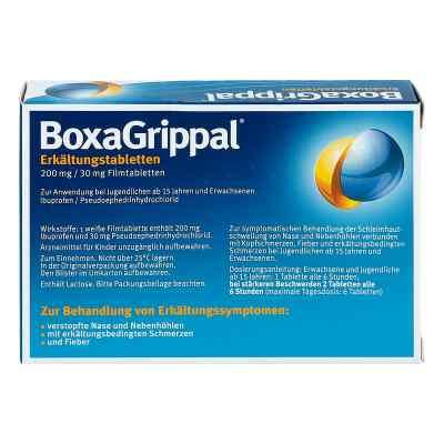 Boxagrippal Erkältungstabletten 200 mg/30 mg Fta  bei versandapo.de bestellen