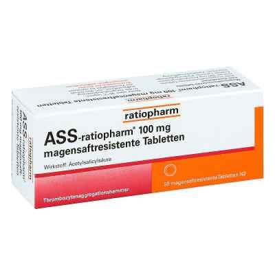 Ass ratiopharm 100 mg magensaftresistent Tabletten  bei versandapo.de bestellen