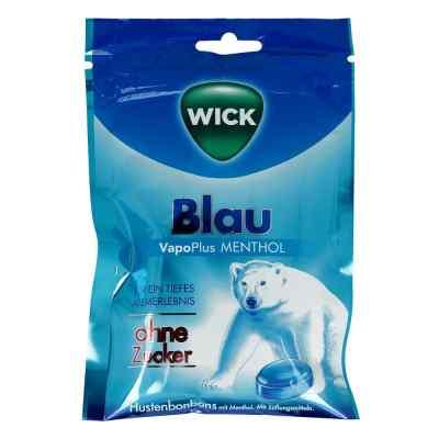 Wick Blau Menthol Bonbons ohne Zucker  Beutel  bei versandapo.de bestellen